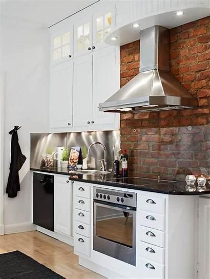 Backsplash Stove Kitchen Behind Brick Glass Considerations