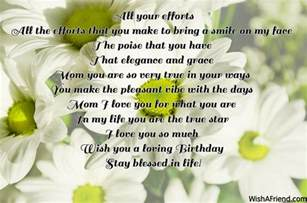 Mother Birthday Poems for Mom