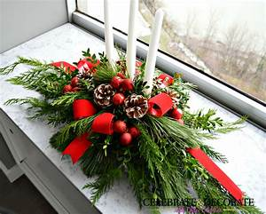 Bedroom Christmas Table Decorations And Centerpieces