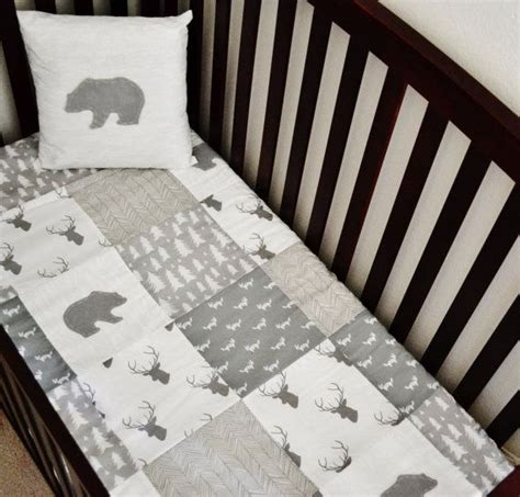 Woodland Themed Nursery Bedding by Best 25 Rustic Bedding Sets Ideas On Rustic