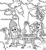 Coloring Printable Grill Firework Pages Rocket Cartoon Sky Pyrotechnics Bbq Funny Adults Getcolorings Lets Colorings Exploding Drawing Liberty sketch template