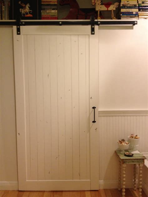 white shed door diy guess who installed own sliding barn door