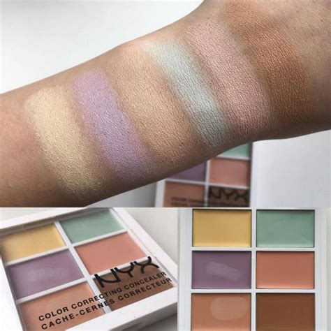nyx colour correcting concealer palette 25 best ideas about color correcting concealer on
