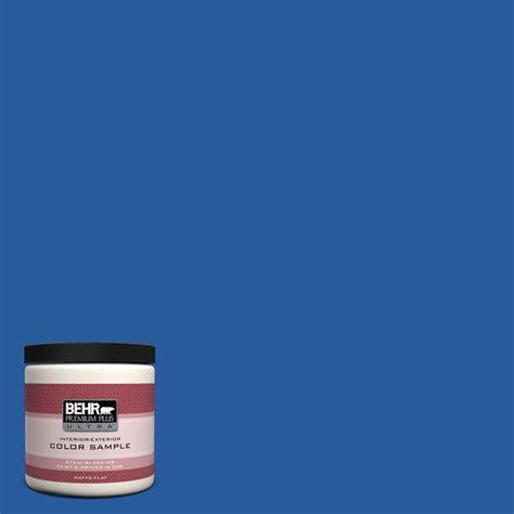 behr premium plus ultra 8 oz p510 7 beacon blue matte