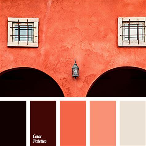 coral red color palette ideas
