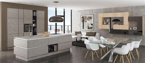 meubles hauts cuisine cuisine américaine avec îlot cuisines cuisiniste aviva