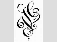 Tatouage Gothique Lettre Tattoo Art