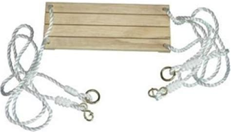 siege de balancoire si 232 ge en bois avec cordes pour balan 231 oire accessoires