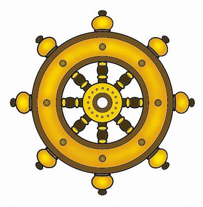 Dharma Buddhist Bodhi Wish Box Wheel Tree
