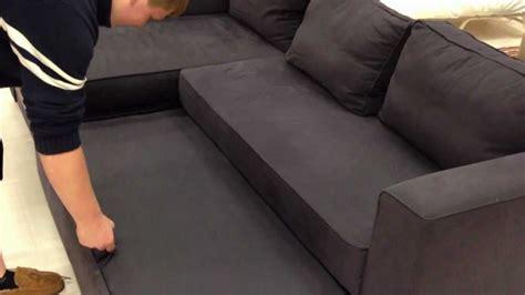 ikea sofabed youtube