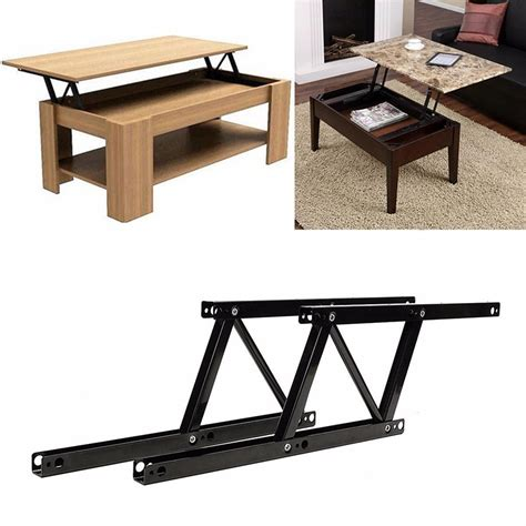 lift top table hardware 1pair lift up top coffee table lifting frame mechanism