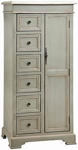 Tall, Storage, Cabinet, W, 6, Drawers, By, Stein, World