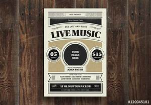 Live Music Flyer. Buy this stock template and explore ...
