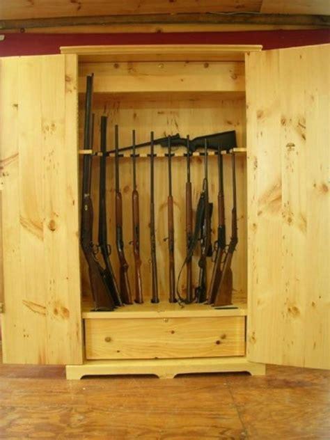 hand  wooden gun storage safe  larue woodworking