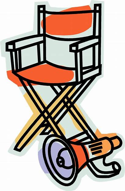 Drama Director Clipart Clip Chair Symbols Directors