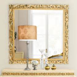 colours for home interiors exclusive large square designer gold leaf mirror