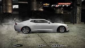"Need For Speed Most Wanted Chevrolet Camaro SS ""50th"