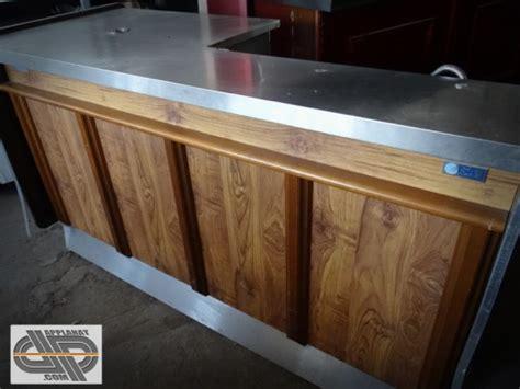 materiel de cuisine professionnel d occasion comptoir de bar réfrigéré 2 mètres goupe logé isa