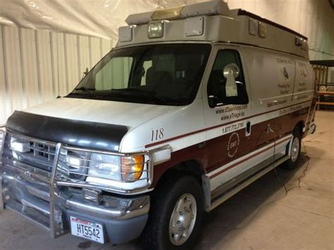 Buy Used Ford E350 Ambulance Type Ii (diesel) In Iron