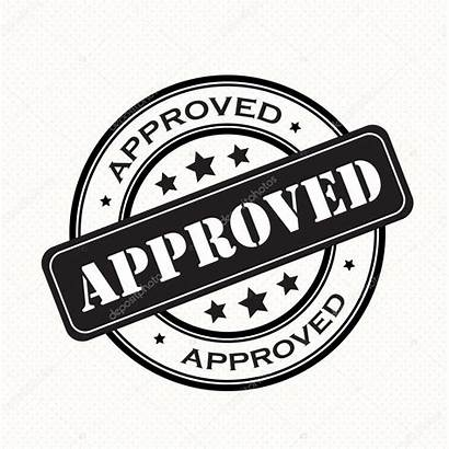 Approved Stamp Badges Vector Retro Approval Illustration