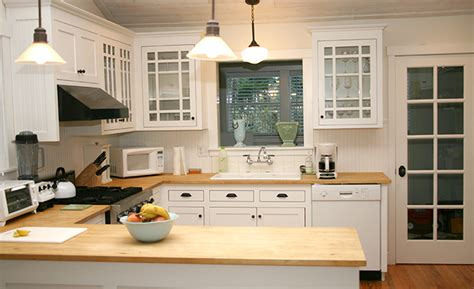 white kitchen cabinets with butcher block countertops kitchens with butcher block counters kitchen decor 2204