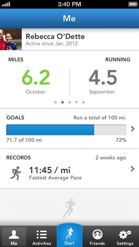 app runkeeper screenshots apps its below making aims ui sharing running keep