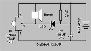 infrared switch circuit With sensitive ir switch circuit