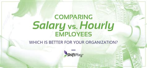 comparing salary  hourly employees