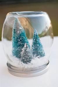 30 idees deco noel diy avec bocaux en verre personnalises With maison a faire soi meme 2 le vase boule petit objet avec de grandes idees