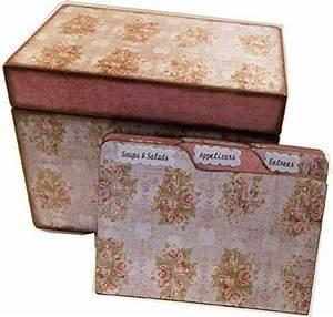 Amazon, Com, Recipe, Box, Tab, Dividers, Set, Wood, Holds, 4x6