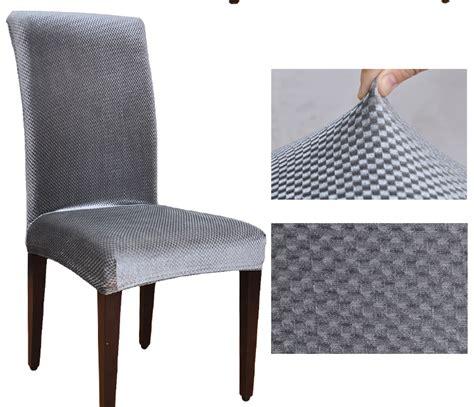 housse de chaise lycra velvet fabric universal elastic dining chair covers spandex dining housse de chaise office