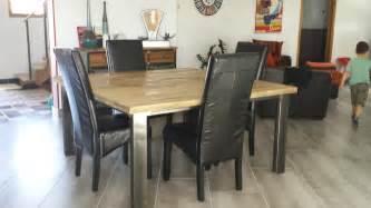 table de salle a manger industrielle 100 images table