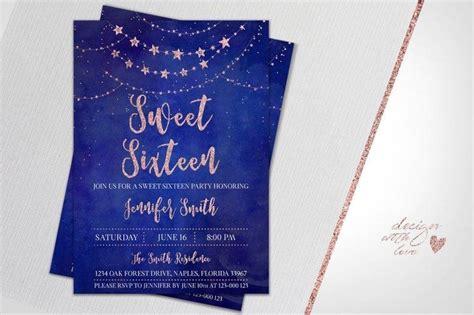 sweet sixteen invitation designs templates psd ai
