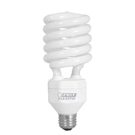 coil light bulbs feit electric 150w equivalent daylight 6500k spiral cfl