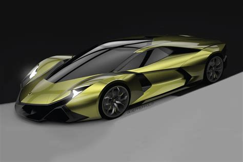 Car Design Concepts : Lamborghini Encierro Concept By Spd