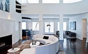 canape demi lune et canape rond 55 designs spectaculaires With tapis de yoga avec canapé open en ville