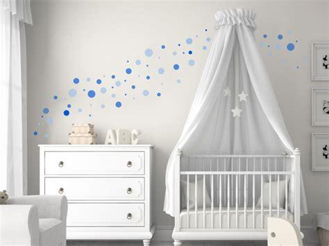 Kinderzimmer Wandgestaltung Punkte kreative klebepunkte wandtattoo dots als deko punkte