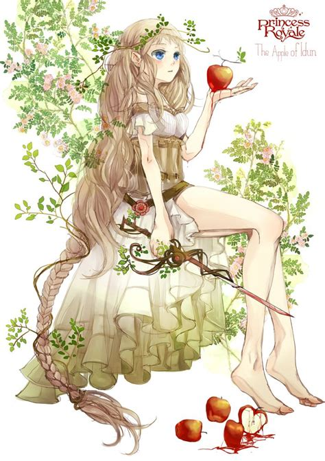 princess filler princess royale the apple of idun by zerochan anime