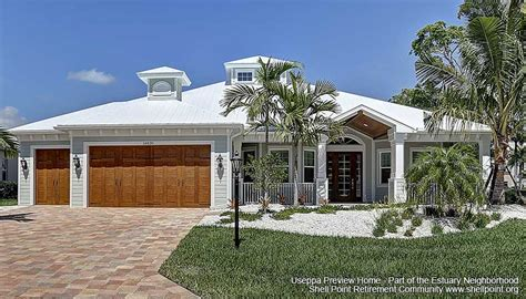 useppa decorated model homes shell point retirement community fort myers florida