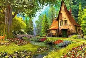 Cottage HD Wallpaper
