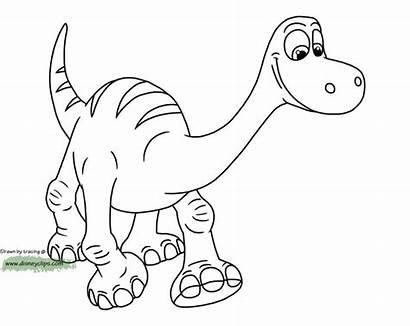 Coloring Dinosaur Disney Dinosaurs Kolorowanki Cartoon Arlo