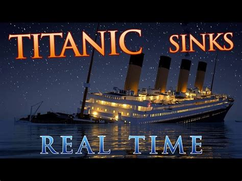 titanic sinking simulation 1997 real time simulation of the titanic sinking captures the