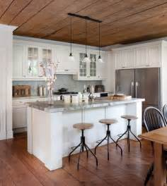 Kitchens Cabinets Wood Floor Ceiling