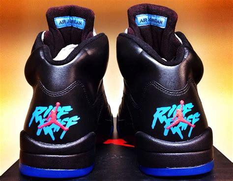 RiFF RAFF Air Jordan 5 'Aquaberry' Custom Going for Almost ...