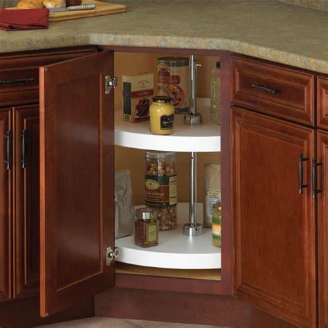 corner cabinet lazy susan knape vogt polymer 2 shelf lazy susans for