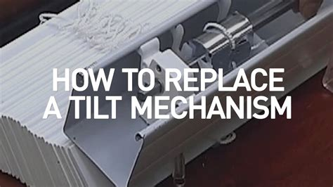 How To Replace A Blind Tilt Mechanism  Blindscom Diy