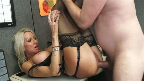 Sultry Boss In Sexy Lingerie Is Having Sex With Her New