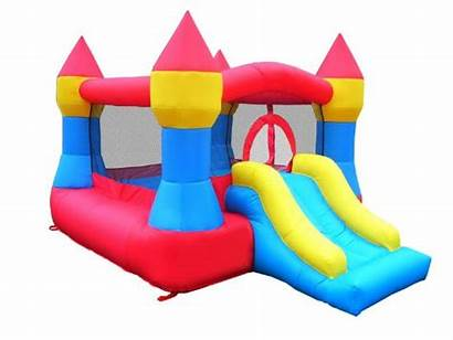 Bounce Inflatable Slide Clip Castle Clipart Water