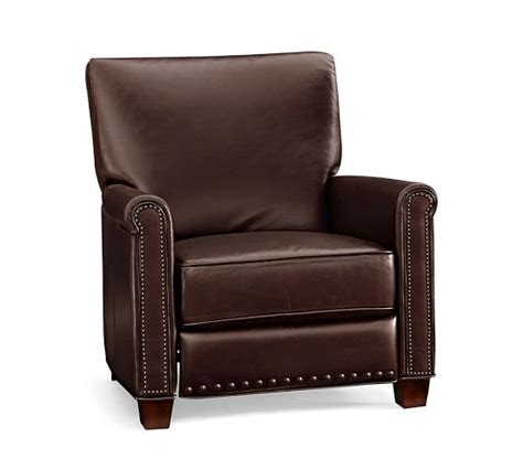 Pottery Barn Irving Chair Recliner by Pottery Barn Warehouse Clearance Sale 60 Leather
