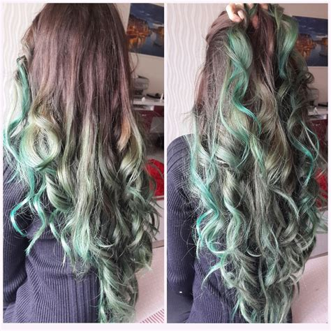 Ombre Hair To Brown by Brown And Green Hair 11 Free Hair Color Pictures